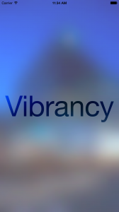 VibrancyLight